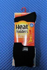 Heat Holders The Warmest Thermal Sock TOG 2.3 Mens Unisex MHHORGBLK BLACK