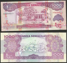 SOMALILAND - 1000 shillings 2011 P# 20 UNC Africa banknote - Edelweiss Coins