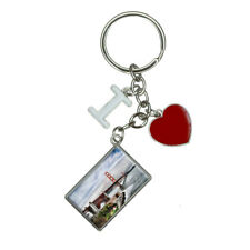 Golden Gate San Francisco I Heart Love Keychain Key Ring