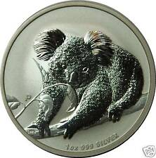 1 AU Dollar Silber 2010 Koala 1 Unze Oz Silver