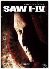SAW I - IV 1 2 3 4 Steelbook DVD NEU + OVP FSK 18