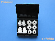 White Set Replacement Comfort Soft Eartips Earbuds for Monster InEar Earphones