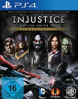 Injustice Götter unter uns Ultimate Edition PS4 (Sony PlayStation 4) NEU OVP