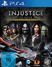 Injustice: Götter unter uns -- Ultimate Edition (Sony PlayStation 4, 2013,...