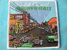 Grateful Dead Shakedown Street Square 4 Inch Iron On Patch