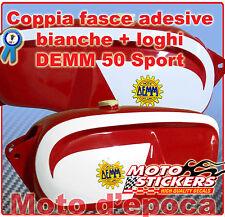 Stickers moto - Stickers Kit tank DEMM 50 Sport