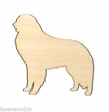 Kuvasz Dog Unfinished Wood Shape Cut Out K5633 Laser Crafts Lindahl Woodcrafts