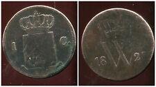 PAYS BAS  1 cent 1823