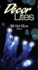 Tiras de luces de interior interior de plástico de color principal azul