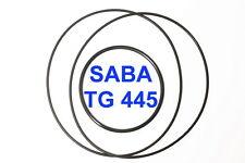 SET CINGHIE SABA TG 445 REGISTRATORE A BOBINE BOBINA EXTRA FORTI FRESCHE TG445