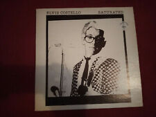 ELVIS COSTELLO Saturated LP Live usa 78