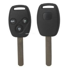 New Uncut Remote Key Fob 3 Button 433Mhz ID46 for Honda Accord Euro 2003-2007