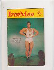 IRONMAN bodybuilding muscle strength magazine/TOMMY KONO 5-56