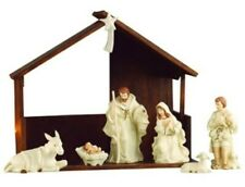 Belleek Living Nativity Collection: 9 Piece Nativity Set. New And Unopened