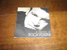 ROCH VOISINE CD SINGLE PROMO JE RESTERAI LA