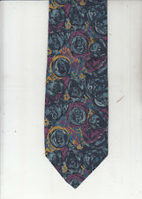 Moschino-Authentic-100% Silk Tie-Made In Italy-Mo4- Men's Tie