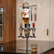Bar Butler Rotary quatre Bouteille Maison Optique Stand 25 ML ESPRIT Distributeur Boissons