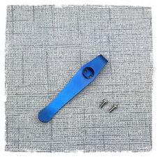 Blue Titanium Deep Carry Pocket Clip Made For Zero Tolerance ZT0350 Knife