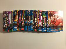 Data Carddass Dragon Ball Z 2 Reg Set PART 1 - 5 + PE 117/117