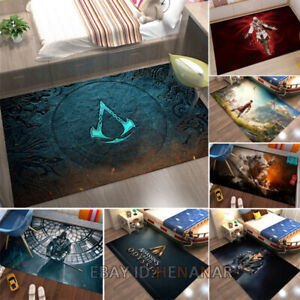 Assassin's Creed Character Carpet Floor Mat Chair Area Rugs Rectangle Non-slip