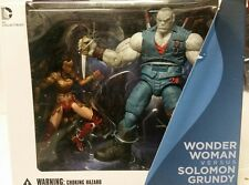 DC Collectibles Injustice Gods Among Us Wonder Woman & Solomon Grundy 2 pack MIP