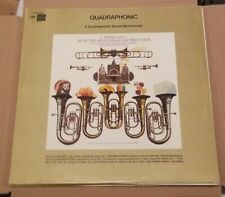 QUADRAPHONIC E.POWER QUADRAPHONIC MUSIC FOR ORGAN, BRASS AND BRASS LP