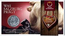 """Österreich, 10 Euro Silbermünze 2014 im Blister """"Salzburg"""" Hgh 40.000 Stk"""