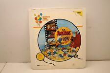 Rare Used CED VideoDisc - The Smurfs and The Magic Flute