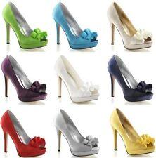 Zapatos de tacón de mujer Peep Toes Pleaser
