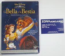 Walt Disney Los Clasicos, La bella y la Bestia, Especial, DVD Nuevo, Precintado.
