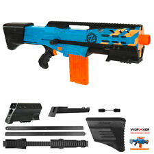 Worker MOD F10555 Combo Pump Kit ButtStock Rail 3D Print for LongShot Modify Toy