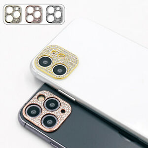 For iPhone 11 Pro Max Bling Diamond Camera Lens Protector Glitter Case Cover New