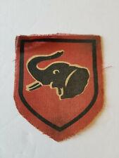 Vintage Original Rhodesian Printed Brigade 1 Badge / Patch - Bush War