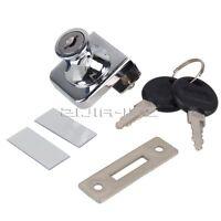 chrome  N506-12-140 keyed the same Push plunger locks for sliding glass doors
