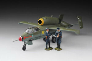 THOMAS GUNN WW2 LUFT011 German Heinkel HE162 with 2 pilots MIB