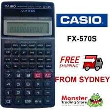 CASIO SCIENTIFIC CALCULATOR FX-570 FX570 FX570S 12 MONTH WARRANTY AUSSIE SELLER