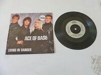 """ACE OF BASE - Living In Danger - 1994 UK 2-track 7"""" Vinyl Single"""