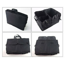 Multi-purpose Black Car Trunk Cargo Organizer Foldable Storage Box Bag Tool Case