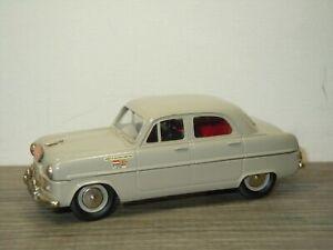 1953 Ford Zephyr Rally Monte Carlo - Lansdowne Models LDM7X - 1:43 *52184