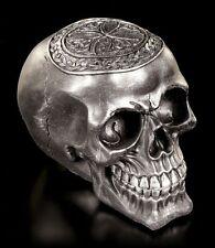 Totenkopf - Keltisches Kreuz schwarz - Schädel Totenschädel Skull Figur Deko