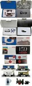 MARKLIN Z SCALE M/M S300-S376-S369-S2009 4 Different COLLECTOR Cars Orig Box C9