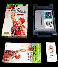 SLAM DUNK FROM TV ANIMATION SlamDunk Super Famicom Nintendo SFC SNES Jap Bandai