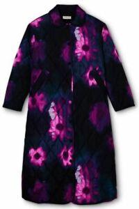 Rachel Comey x Target SIZE L Women's Floral Print Quilted Jacket