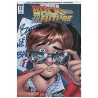 Back to the Future (2015 series) #12 SUB cover in NM + cond. IDW comics [*m2]