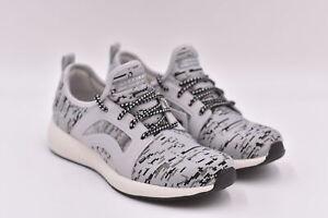 Women's Skechers Bobs Squad - Double Dare Fashion Sneakers, Grey / Black, 6M