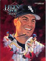 Legends Sports Memorabilia Magazine Jan/Feb 1993 Robin Ventura EX 040816jhe