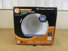 "Lithonia Lighting 6"" White Baffle Recessed LED Downlight Dimmable  NEW IN BOX"