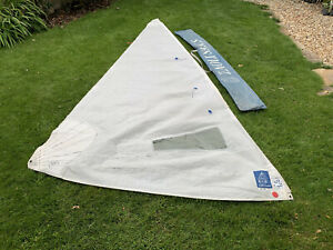 420 Sailing Dinghy Jib Training Sail - used or use as Sun Shade