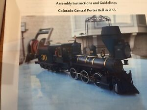 ON3 Porter Bell 0-6-0 Rare Locomotive Kit By The Leadville Shop