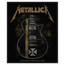 Metallica Black hetfield guitar sew-on cloth patch  (mm)